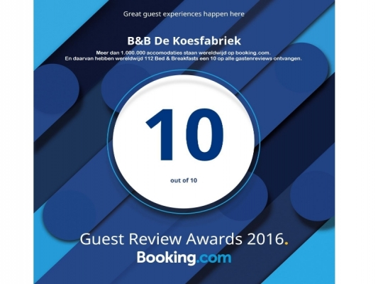 2016 Guest Review Award 10